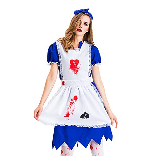 LODDD Fashion Women Dress Halloween Cosplay Nurse