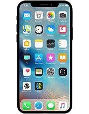 Apple iPhone X, US Version, 64GB, Silver - Unlocked (Renewed)