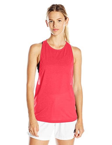 adidas Women's Performer Tank Top, Small, Shock Purple