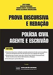 POLÍCIA CIVIL - PROVA DISCURSIVA E REDAÇÃO - AGENTE E ESCRIVÃO - QUESTÕES DISCURSIVAS CONCURSOS PÚBLICOS: Incl