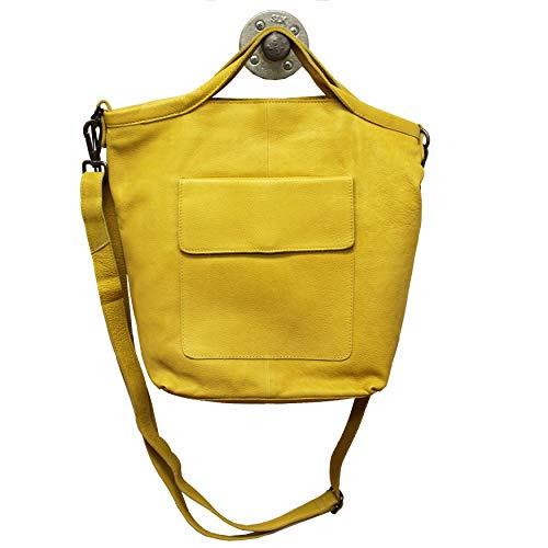 Latico Leathers Bianca Tote (Yellow)