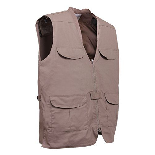 ROTHCO Lightweight Professional Concealed Carry Vest, 2XL, Khaki