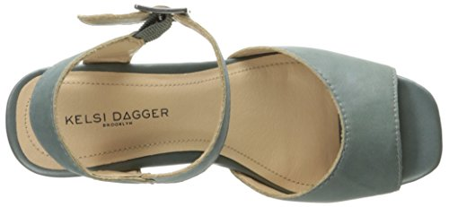 Front Kelsi Dagger Brooklyn Front Blue Steel Womens tr81q