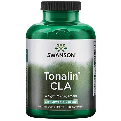 - Swanson Tonalin Cla (Safflower Oil Blend) 1000 Milligrams 180 Sgels