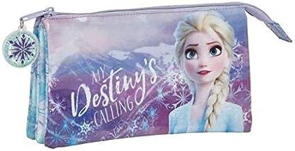 Frozen II Estuche portatodo Triple Escolar: Amazon.es: Equipaje