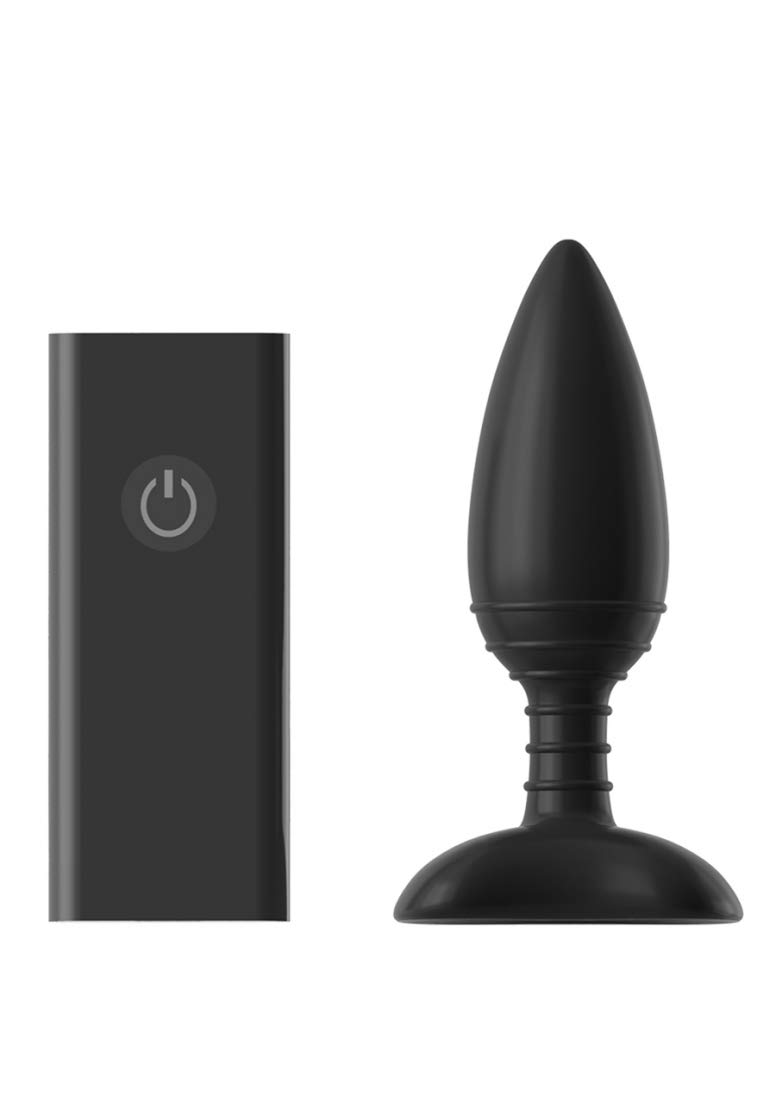 Nexus Ace Remote Control Vibrating Butt Plug Large Rechargeable by Nexus
