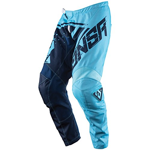 Answer Racing A18 Syncron Men's Off-Road Motorcycle Pants - Cyan/Navy / Size 38