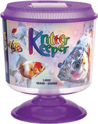(Lee's Kritter Keeper, Large Round w/Lid and Pedestal)