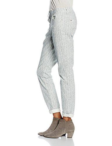 White Mujer 10055 Para spring Pantalones Sandwich Blanco wXp4qfX6