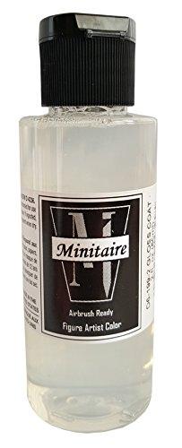 (Badger Air-Brush Company Miniature Airbrush Ready Water Based Acrylic Paint Bottle, 2-Ounce, Gloss Coat)