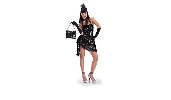 Disfraz de Charleston mujer: Amazon.es: Ropa y accesorios