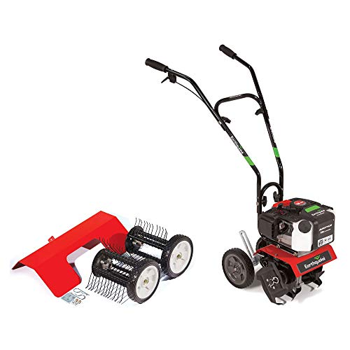 - Earthquake MC43 Cultlivator Lawn Garden Gas Tiller w/Dethatcher Attachment Kit