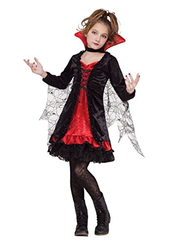Lace Vampiress Kids Costume
