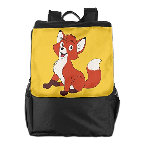 Price comparison product image GeGe6 Cute Red Fox Tod Unisex Business Backpack Travel Shoulder Bag