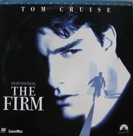 Laserdisc movie, THE FIRM. by - Shop Lombard
