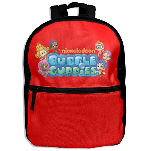 Toddler Backpack Shcool Bag for Boys Girls Bubble Guppies Logo
