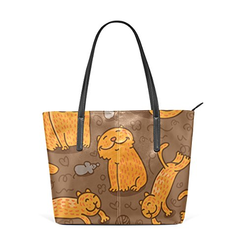 Cats Shoulder Large Women Top Bags Handle Handbag Pattern BENNIGIRY Tote xwFqO0p0B