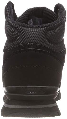 black 022 charcoal Montants black Norfolk Sc Noir Chaussons Homme swiss K nvCW1HS0q