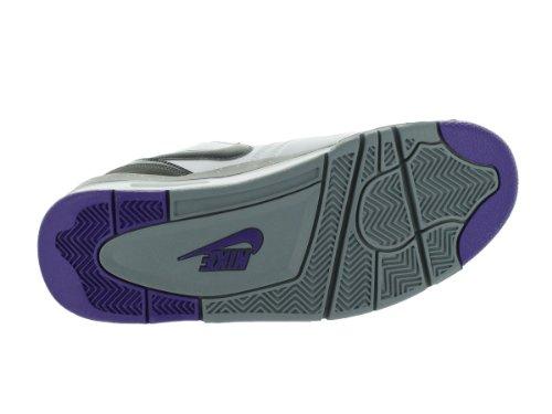 Vuelo 13 blanco / negro / anthrct / elctr Prpl baloncesto de zapatos 10 con nosotros