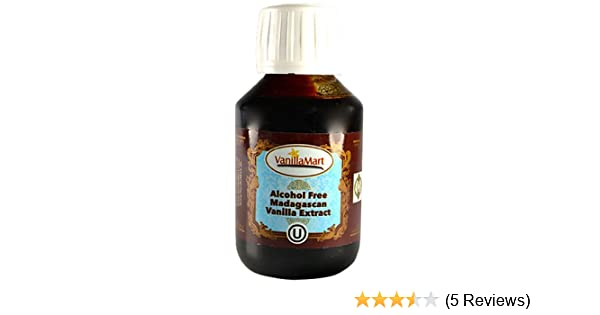 Alcohol Free 4-Fold Halal Madagascar Vanilla Extract 100ml