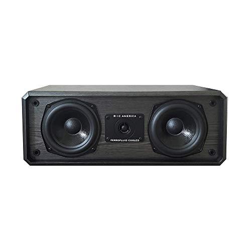 "BIC America 5-1/4"" 2-Way Center-Channel Speaker Black DV52CLRB"