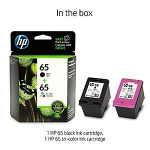 HP T0A36AN#140  65   2 Ink Cartridges   Black, Tri-color   N9K01AN, N9K02AN