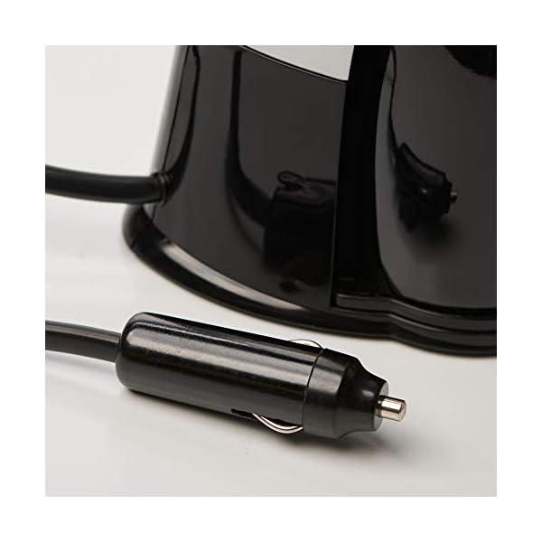 417yuckMF2L DOMETIC PerfectCoffee MC 01, Reise-Kaffeemaschine, 12 V, 170 W, für Auto, LKW oder Boot, schwarz/silber