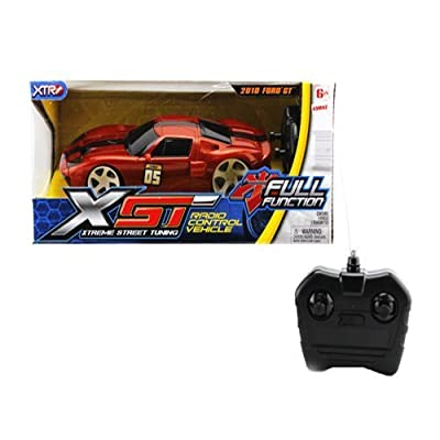 XTR Toys XST Brown Radio Control R/C Ford GT Models Car Vehicle Hobby Full Function Electric 1:24 Scale Ready to Run RTR 27MHz: Toys & Games