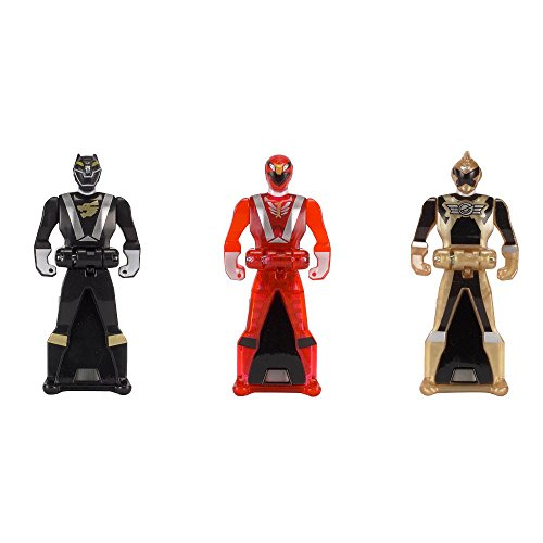 Power Rangers Key Pack RPM Set C Red Black Gold