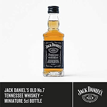 Jack Daniel's Old No. 7 Gift Set, 5cl Miniature and Whiskey Glass in Gift Box