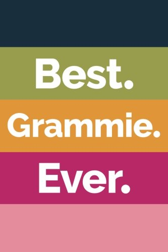 Best Grammie Ever (6x9 Journal): Lined Writing Notebook, 120 Pages – Striped Navy Blue, Green, Orange, Fuchsia, Pink ebook