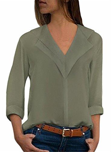 Green Army Donna FIYOTE Camicia FIYOTE Camicia wHCPqOx