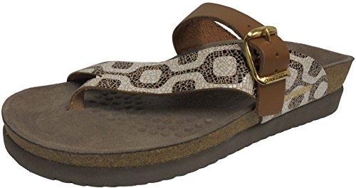 - Mephisto Women's Helen MIX Slide Sandal, Copacabana/Camel, 7 M US