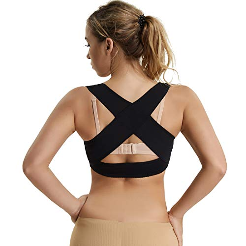 c5fe600bfd Posture Corrector Shapewear for Women Compression Bra Chest Brace Up  Support Tops Vest Shaper
