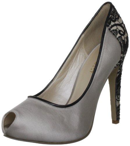 Nine West Joan2 - zapatos de tacón de material sintético mujer negro - negro
