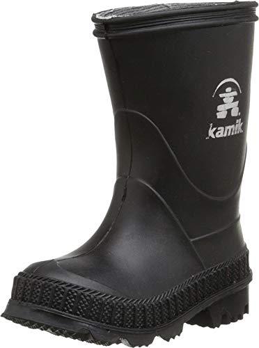 Kamik Stomp Rain Boot, Black, 6 M US Big Kid
