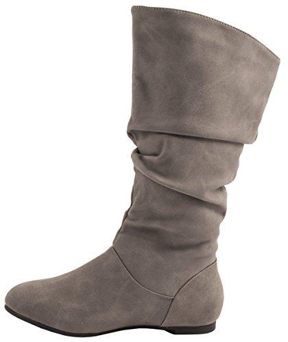 Elara - botas clásicas Mujer gris