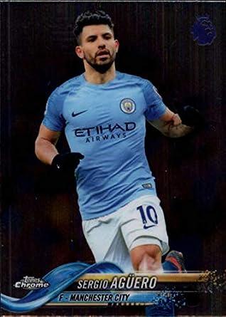Amazon.com  2018-19 Topps Chrome EPL (English Premier League) Soccer  55 Sergio  Aguero Manchester City Official Futbol Trading Card  Collectibles   Fine Art bdb2809bd2b