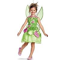 Disfraz de hadas Disney Tinker Bell Classic para niñas, 4-6X
