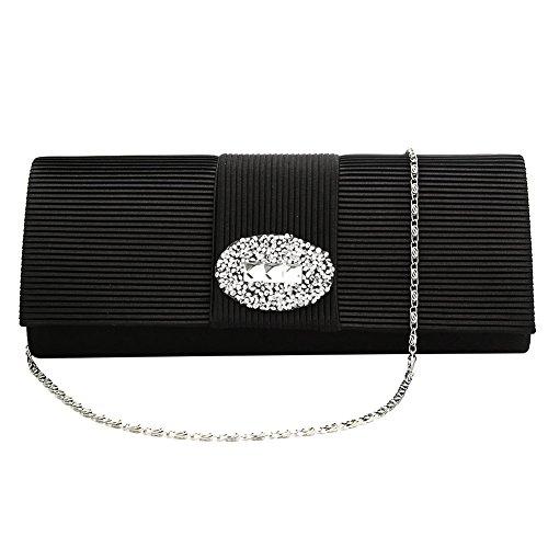 SSMK Bag Pochette femme Evening Noir pour rr07w