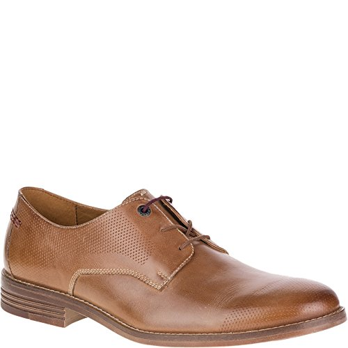 Hush Puppies Mens Glitch Parkview Oxford Pelle Marrone