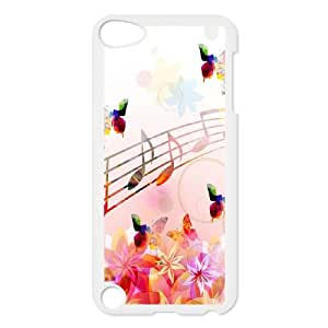 Musical Note iPod Touch 5 Case White plfs