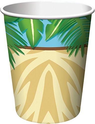 Creative Converting 8 Count Safari Adventure Hot/Cold Cups, 9 oz, Multicolor]()