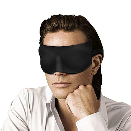 LANGRIA Eye Mask for Sleeping with 3D Contoured...