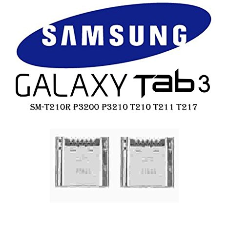 2 X USB Charging Port Dock Connector Jack for Samsung Galaxy Tab 3 7.0 SM-T210R P3200 P3210 T210 T211 T217