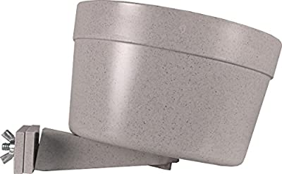 Lixit 30-0740-012 Jumbo Cage Crock for Dogs, 40-Ounce