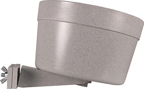 Dog Carrier Cage Crock - Lixit Dog Carrier Cage Crock, Granite, 40oz