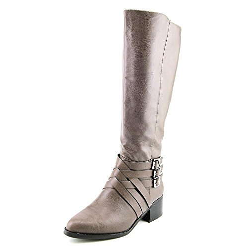 MIA Womens Noralee Pointed Toe Knee High Fashion Boots, Gray, Size 6.0