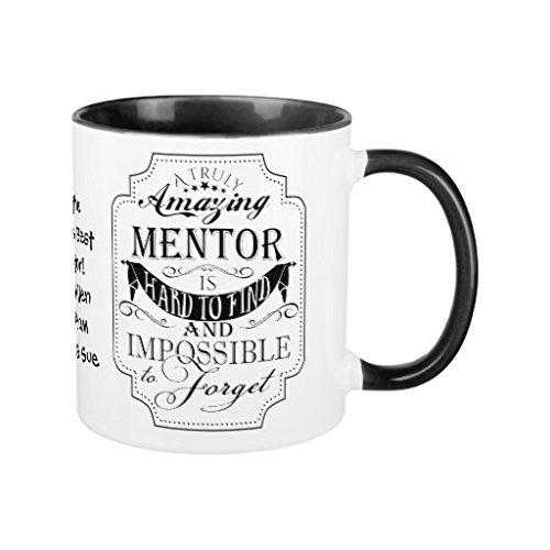 Novelty Amazing Mentor Coffee Mug Gift for Women Birthday Present for Him...