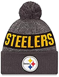 0ce6d992e Youth Pittsburgh Steelers Graphite Sport Knit NFL 2018 Beanie Unisex Hat